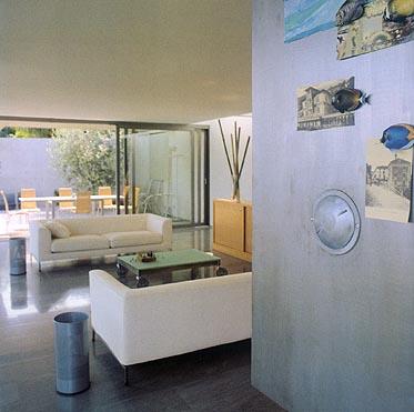 designer haus in incella 0ffener grundriss innen und aussen als einheit. Black Bedroom Furniture Sets. Home Design Ideas